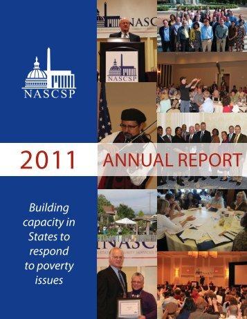 2011 NASCSP Annual Report