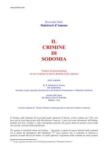 Il crimine di sodomia.pdf - Esolibri