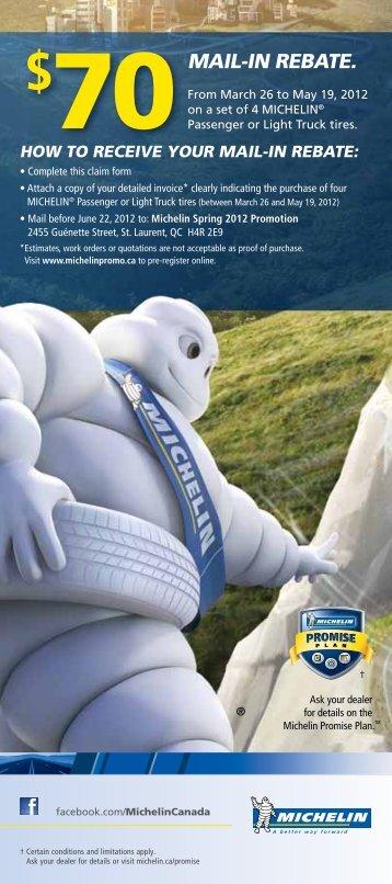 Michelin Spring 2012 Promotion - Honda Canada