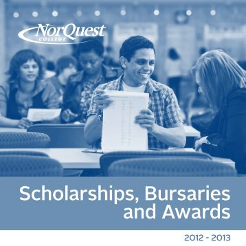 Scholarships, Bursaries and Awards - NorQuest College