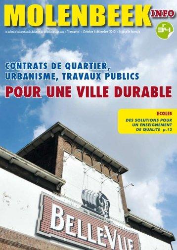 POUR UNE VILLE DURABLE - Molenbeek