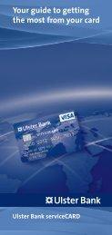 Visa ServiceCARD - Ulster Bank