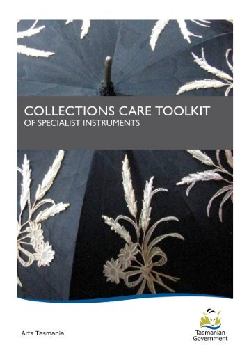 Collection Care Toolkit - Arts Tasmania