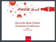Turkey - Coca Cola İçecek