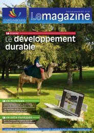 Le magazine de novembre 2011 - Chateaubourg