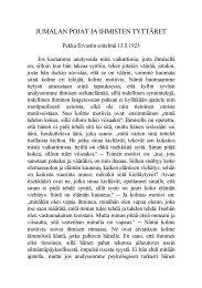 1923 05 13 Jumalan pojat ja ihmisten tyttäret - Pekka Ervast