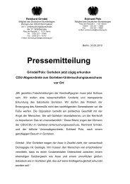 Pressemitteilung - Eckhard Pols
