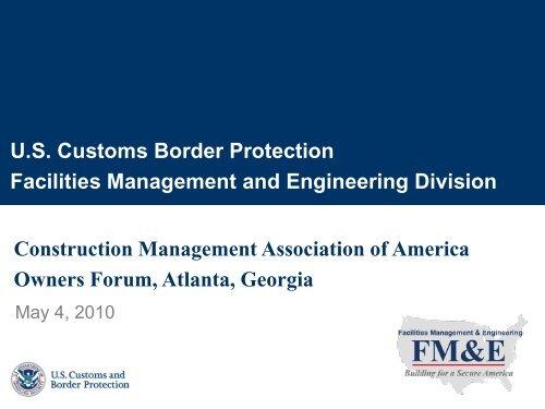 FM&E - CMAA