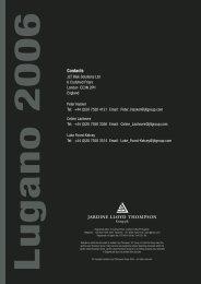 CommTech 2006 Forum Newsletter - JLT
