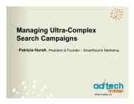 Managing Ultra-Complex Search Campaigns