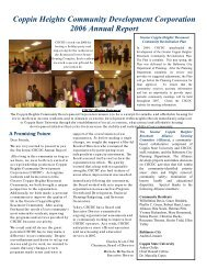 Annual Report - Coppin State University