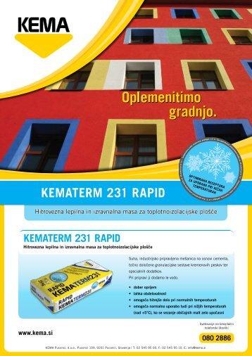 Letak Kematerm 231 Rapid - Kema.si