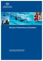 Director Performance Evaluation (2.02mb PDF)