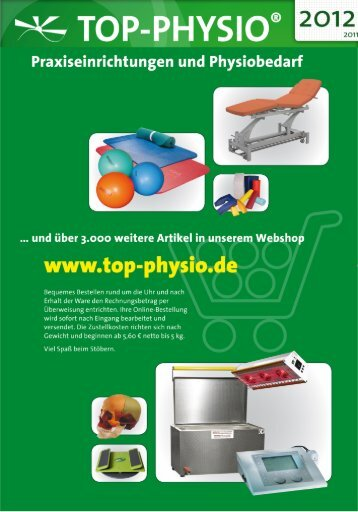Tel. 030 - 4050 5766-6 / Fax - Top-Physio Schulungszentrum Berlin