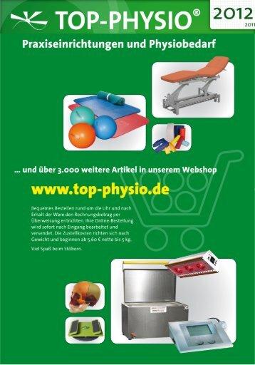 Tel. 030 - 4050 5766-6 / Fax - Top-Physio Schulungszentrum Berlin