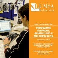Guida al corso di laurea 2012/2013 - Lumsa