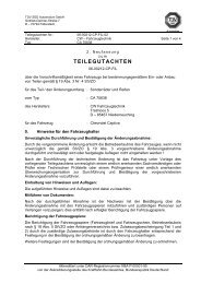 TEILEGUTACHTEN - onlineraeder.de