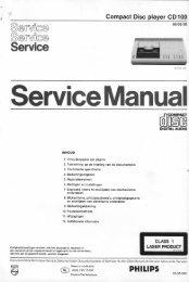 ' Service Manual - Vintagehifi.nl