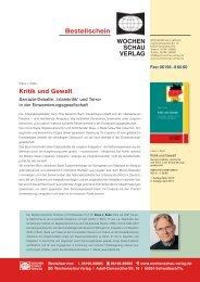Kritik und Gewalt - Klaus J. Bade
