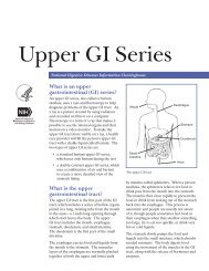 Upper GI Series - National Digestive Diseases Information ...