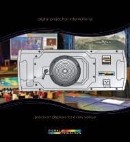 High-Resolution PDF - Digital Projection