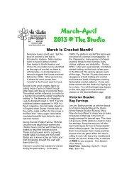 mar-apr news online2.pub - The Studio