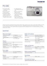 FE-230, Olympus, Compact Cameras