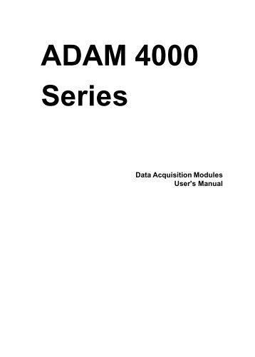 ADAM 4000 Series
