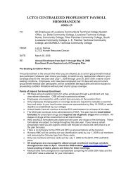 Memo #19, Annual Enrollment from April 1 through May 19, 2006