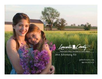 2014 Advertising Kit - Members Padutchcountry - Lancaster County