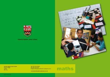 Numeracy - Dulwich Hamlet Junior School