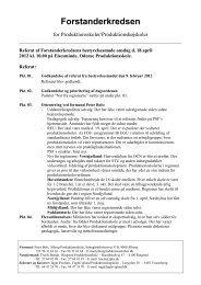 Referat d. 18. april 2012 - Forstanderkredsen