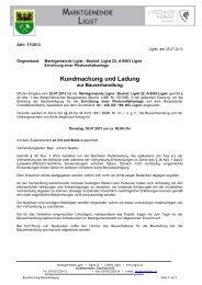 download Kundmachung - Ligist