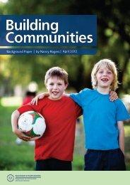 Building communities background paper (PDF ... - DCSI - SA.Gov.au