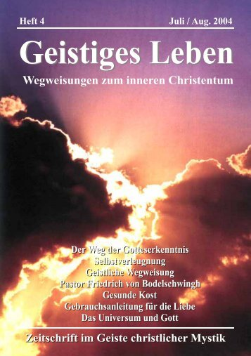 GL 4/2004 - der Lorber-Gesellschaft eV