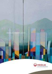 Annual report 2007 - Veolia Finance - Veolia Environnement