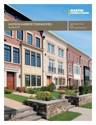 Hudson Harbor TownHomes - Marvin Windows and Doors