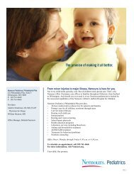 Pediatric Nephrologists at Nemours/Alfred I  duPont Hospital for