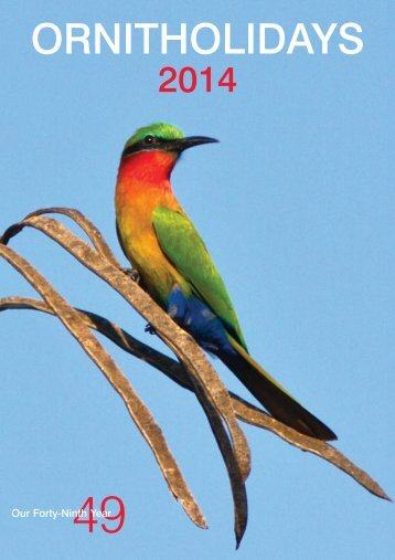 Download 2014 Brochure (.pdf) - Ornitholidays