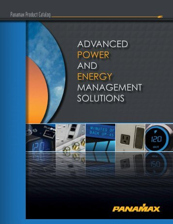 advanced power and energy management solutions - Panamax!