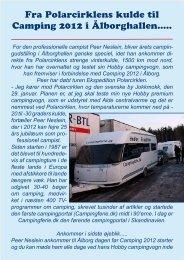 Fra Polarcirklen direkte til Ã…lborg - Campisternes Rejseportal