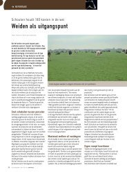Weiden als uitgangspunt - Melkveebedrijf