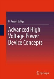 Advanced High Voltage Power Device Concepts - 1.. - Index of