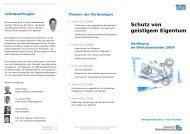 Schutz von geistigem Eigentum - Reinhard Skuhra Weise & Partner ...