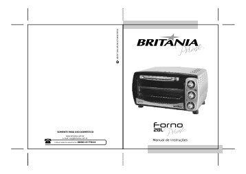 284 05 00 Rev0 Folheto de Instruções Forno 28L Prime.cdr - Britânia