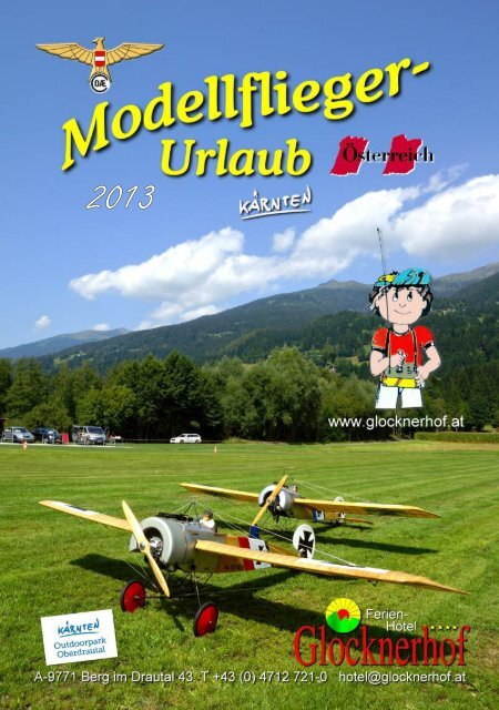Modellflug Prospekt 2013 (pdf, 3 MB) - Glocknerhof