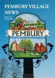 Issue 146 - the Pembury Village Website