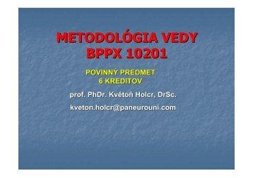 Prezentácia prednášky 16. 11. 2011