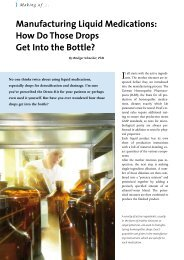 Manufacturing Liquid Medications: How Do Those ... - Bio Pathica Ltd