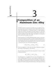 Analysis of a Aluminum-Zinc Alloy (.pdf) - Chemmybear.com